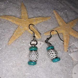 Disco Jade Earrings